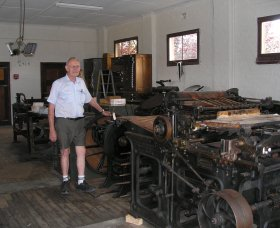 Henty Observer Printing Museum