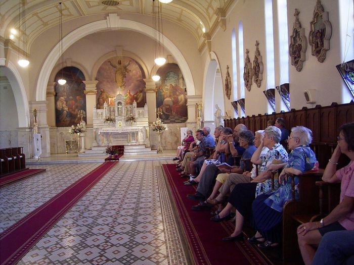Tours of Sacred Spaces at the Sisters of Mercy Convent