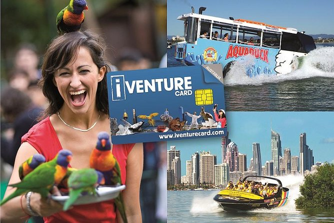Gold Coast Attraction Pass Including Currumbin Wildlife Sanctuary and Paradise Jetboating