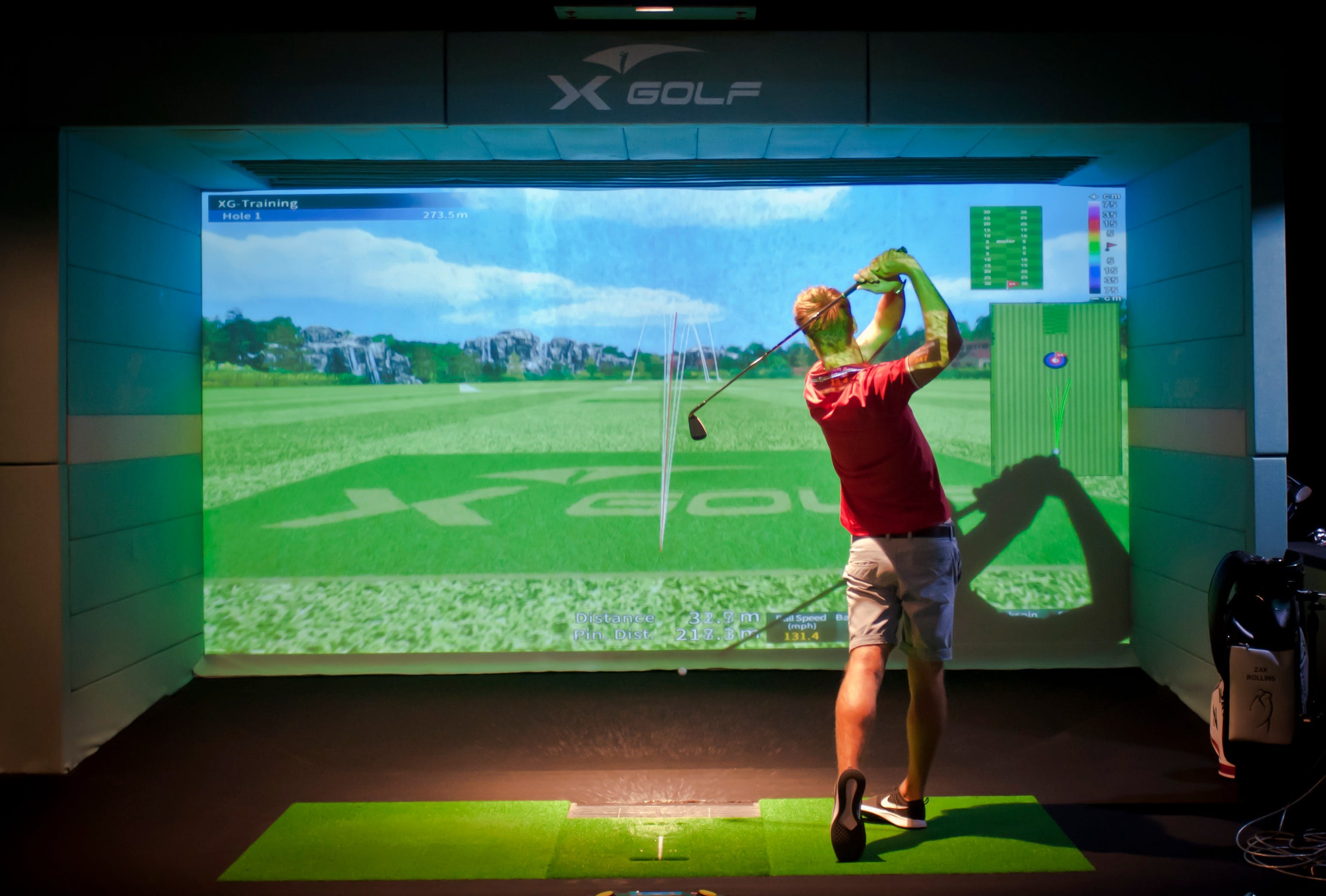 X-Golf Marion- Real, Fast, Fun -Indoor Golf!
