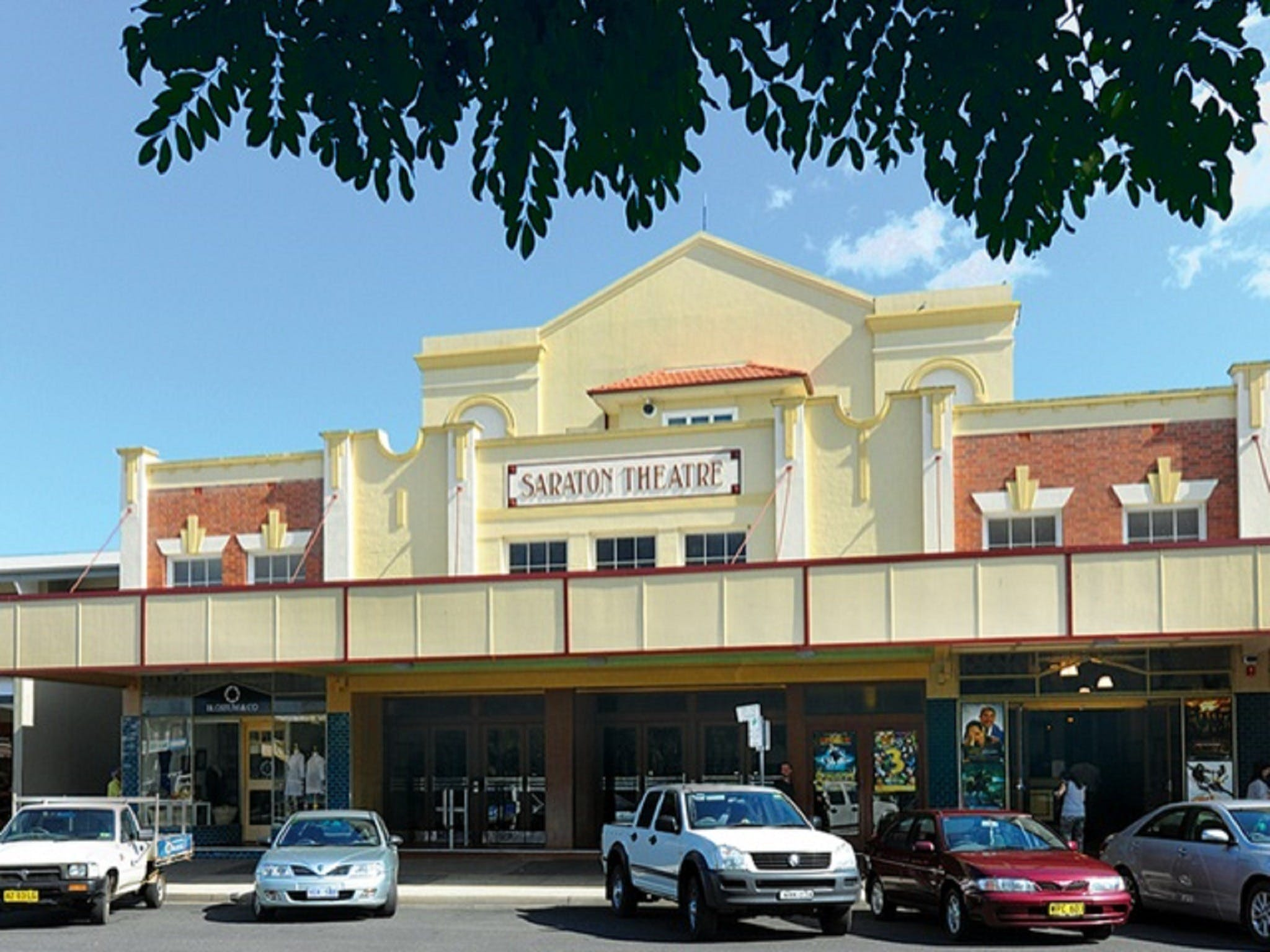 The Saraton Theatre Grafton