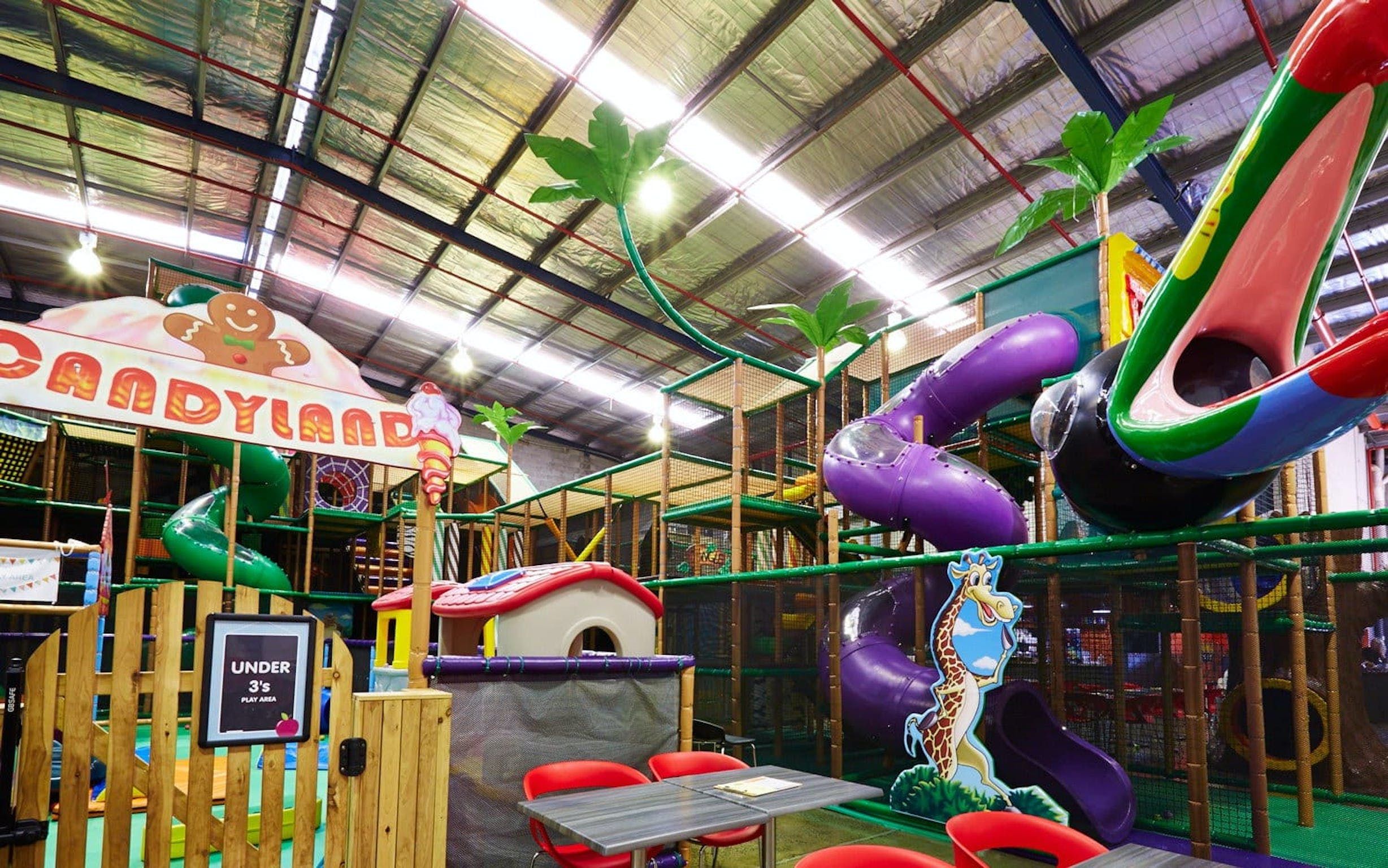 Little Dynamo's indoor play centre and cafe