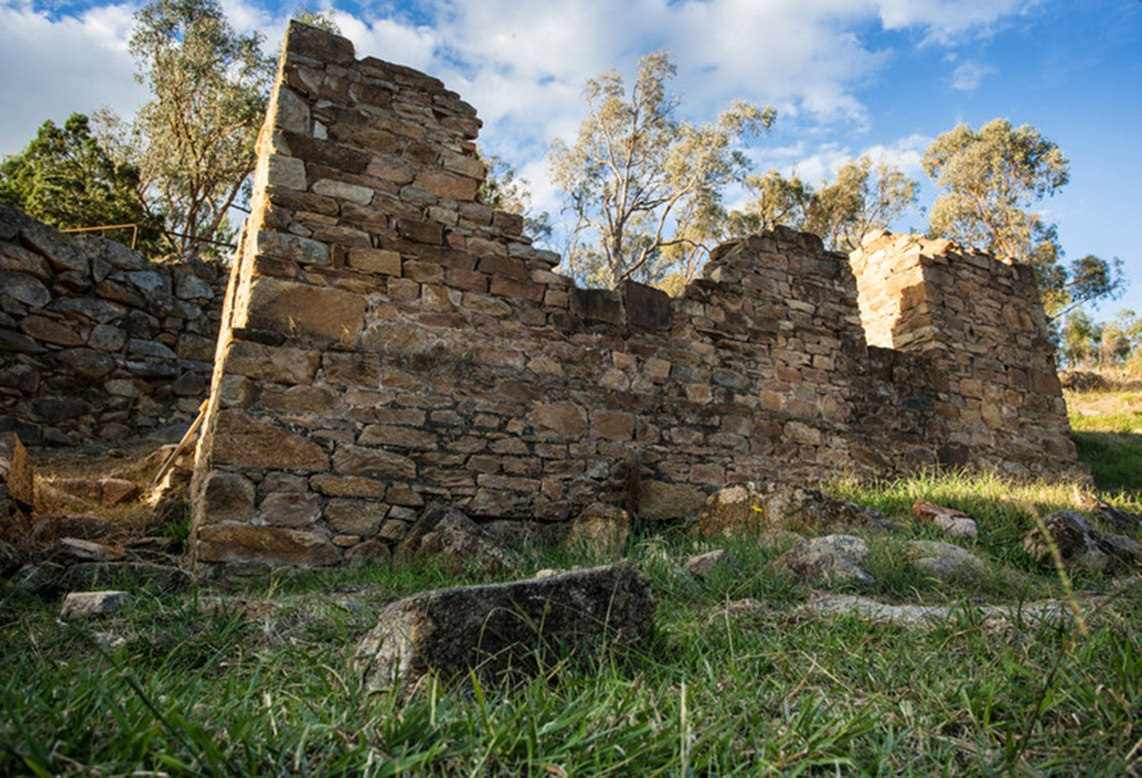 Adelong Falls Gold Mill Ruins