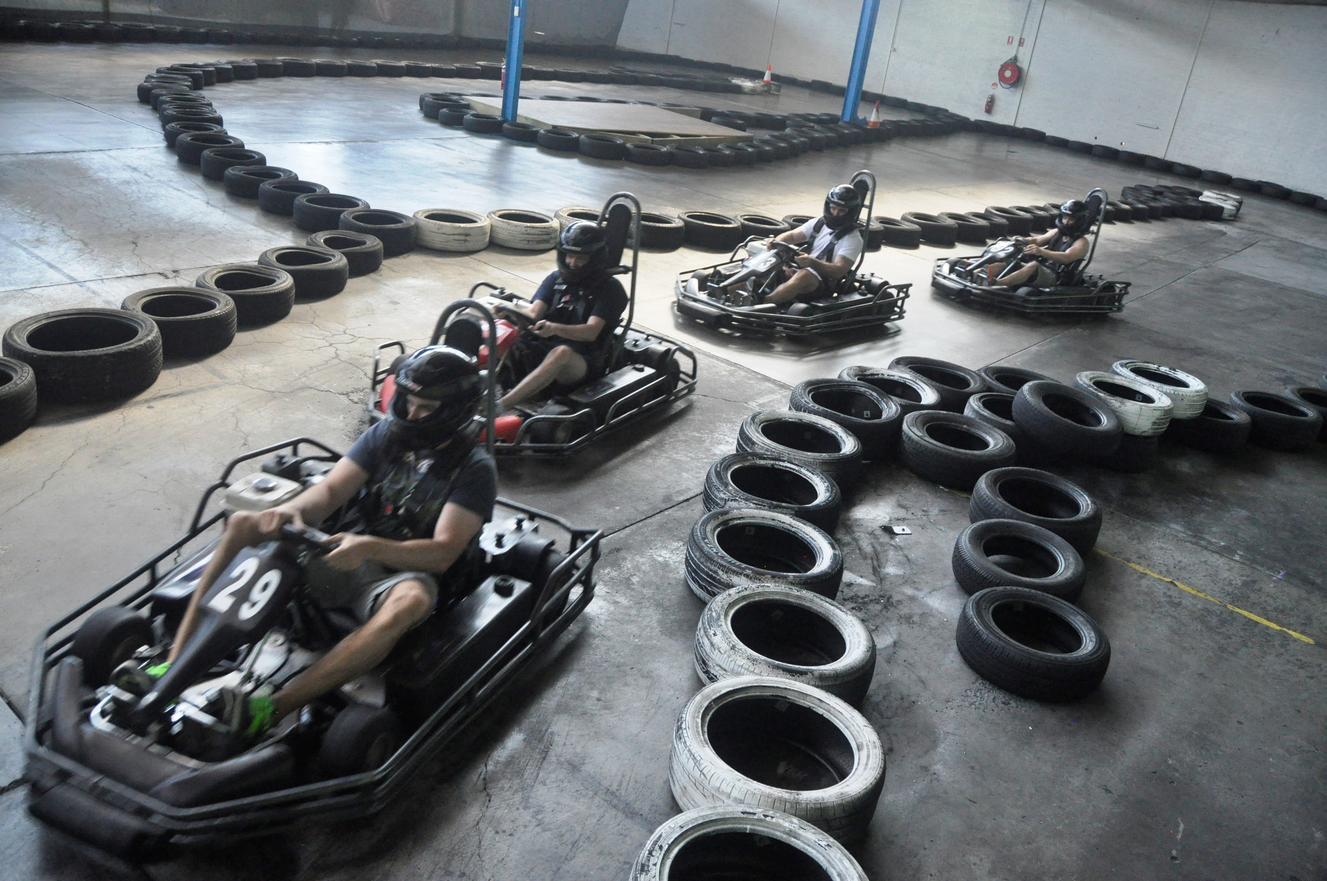 Spitfire Paintball and Go Karts