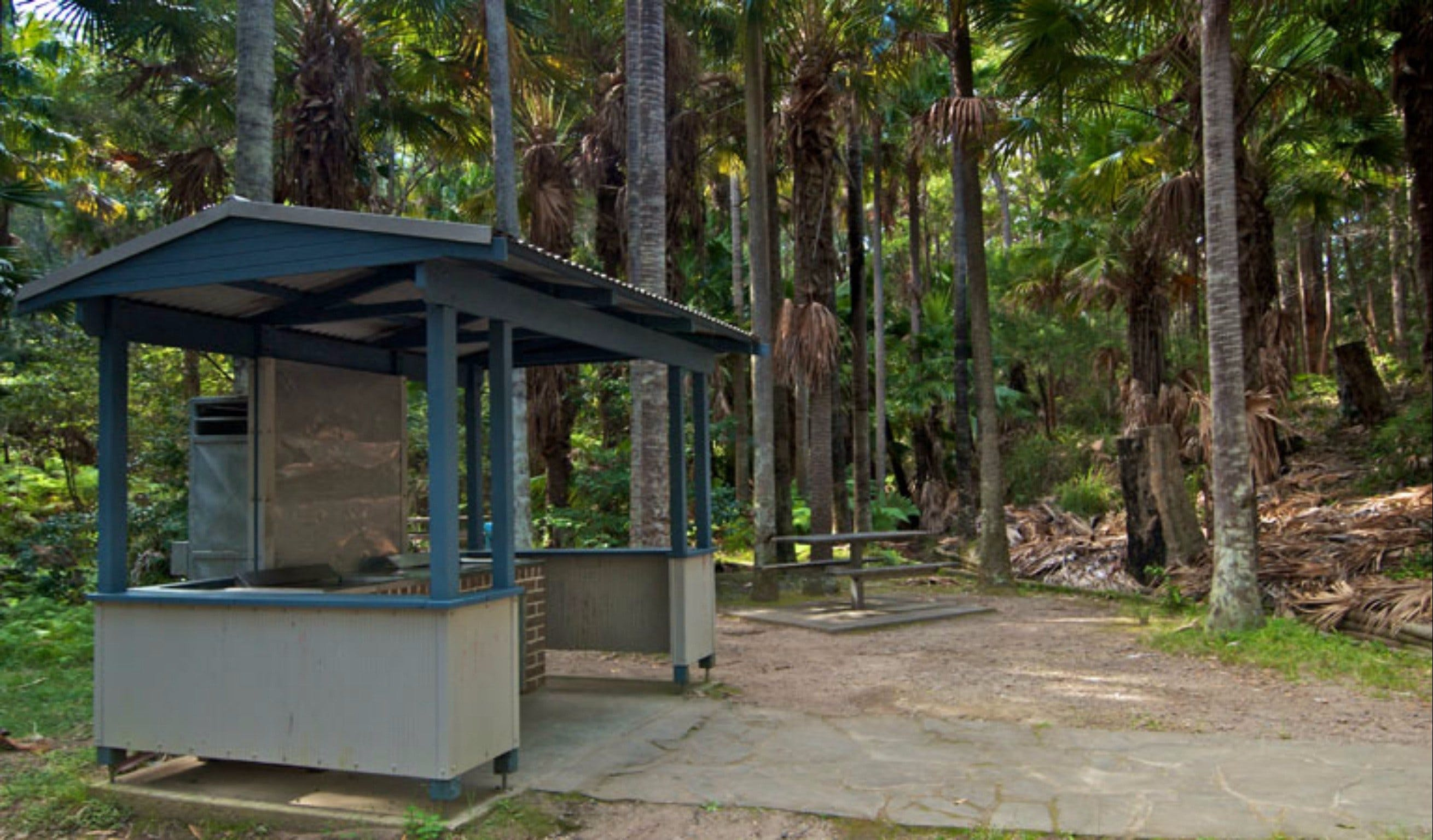 Palms picnic area