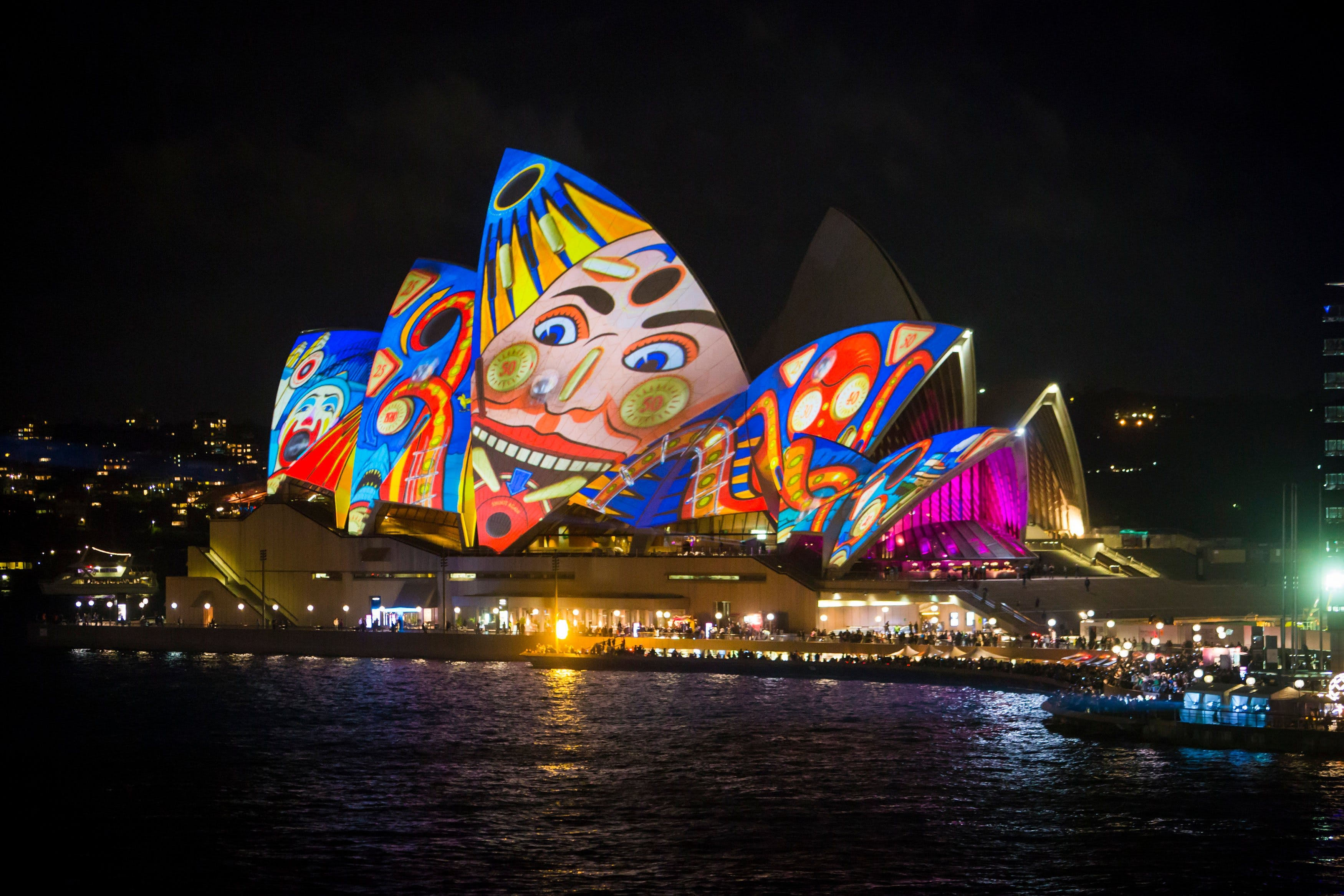 Vivid Sydney Harbour Dinner Cruises – Australian Cruise Group