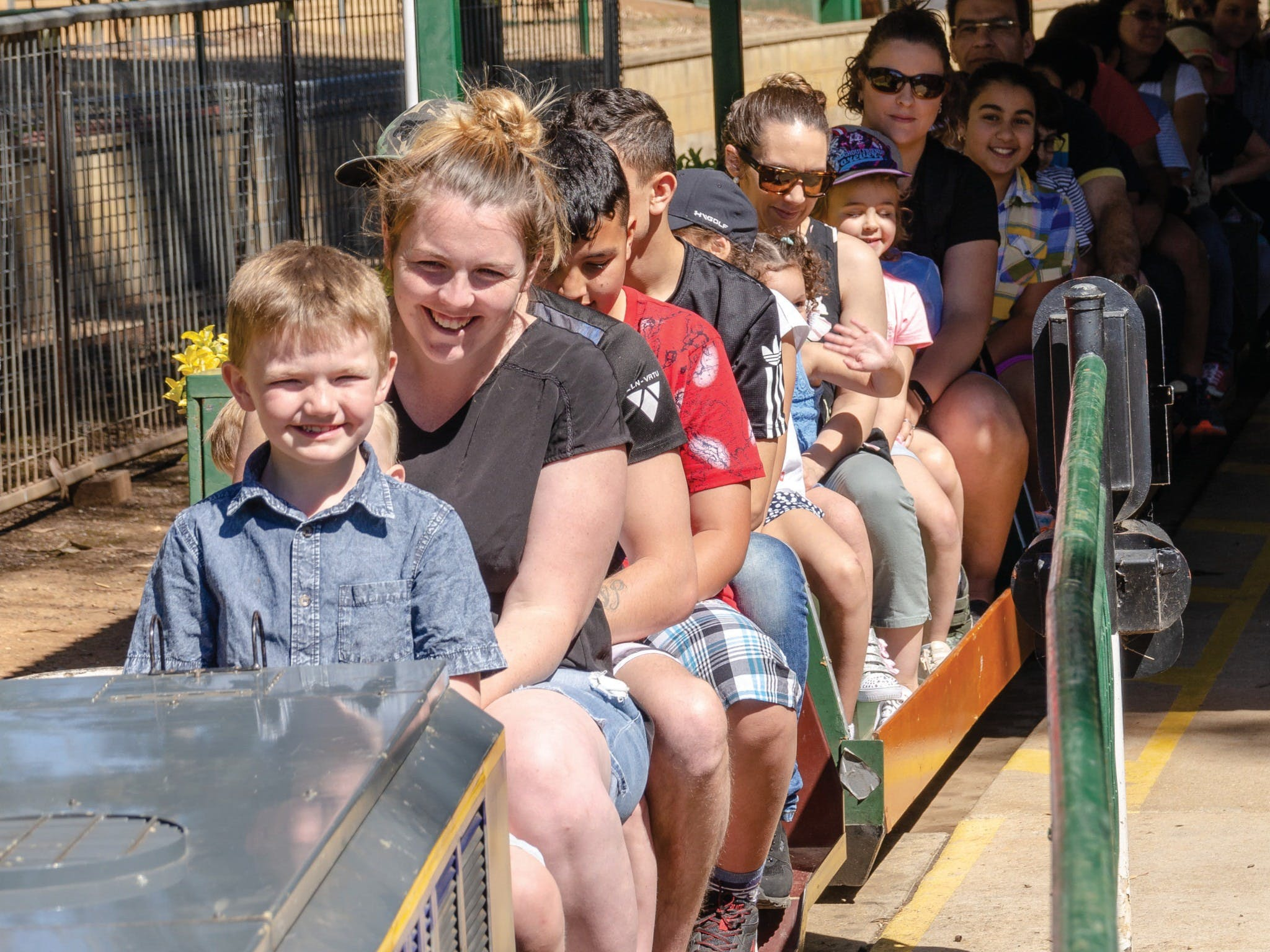Willans Hill Miniature Railway Rides: Open Days